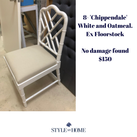 Imperfect Opened Dining Chairs- (Sydney Warehouse)