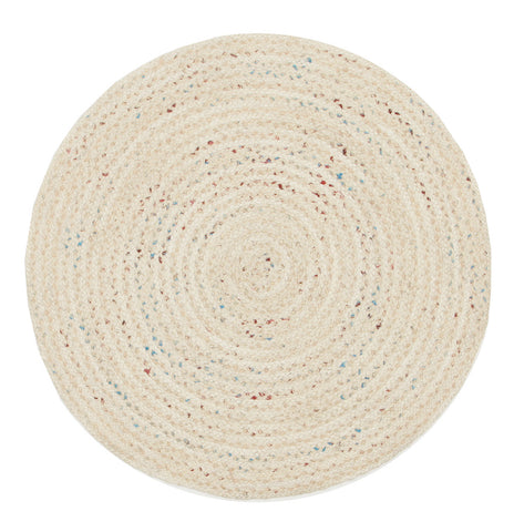 Diva Bleached Natural Round Rug