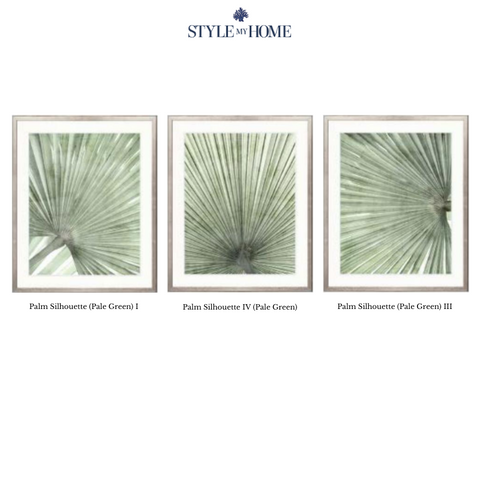 Mandalay Palm Framed Artwork Collection