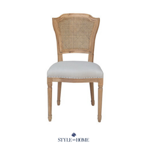 'April' Luxury Upholstered Dining Chair