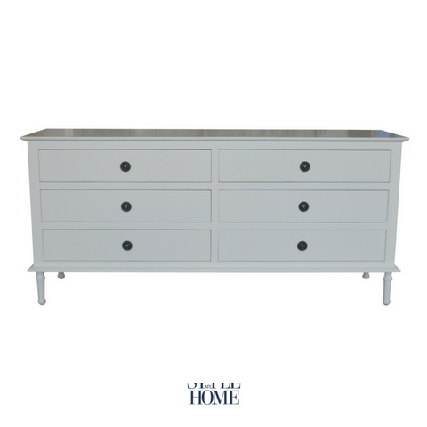 'HEIDI' Extra Long Chest of Drawers