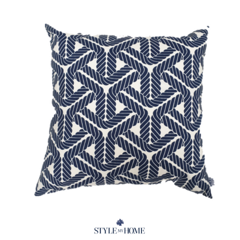 Navy Topsail Indoor/Outdoor Luxury Cushion PREORDER