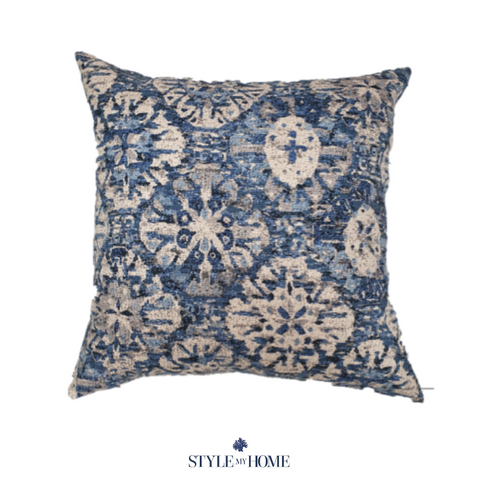 Indigo Dreaming Luxury Cushion
