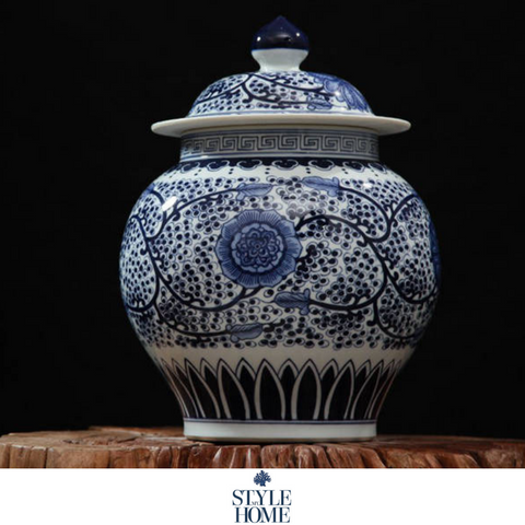 Imperial Cornflower Ginger Jar - PRE ORDER