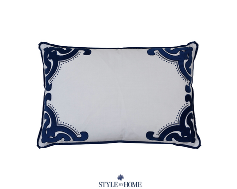 Bronte Navy Pillow Cushion