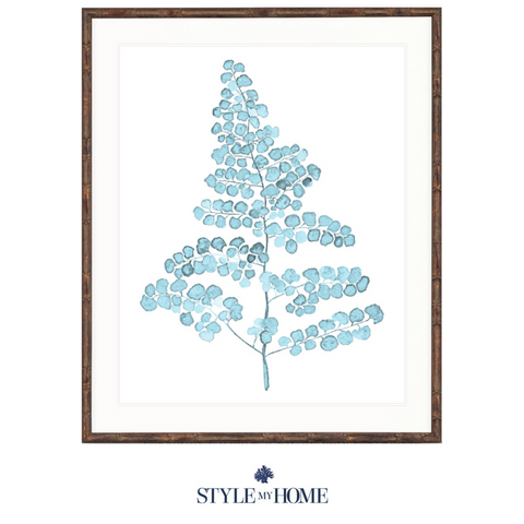 Pale Blue Foliage III Collection Designer Boys