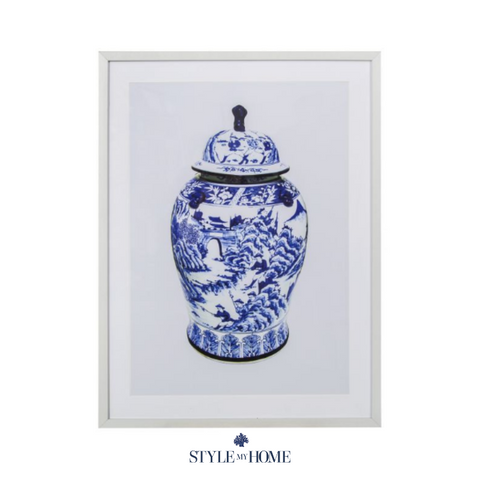 Ginger Jar Framed Art