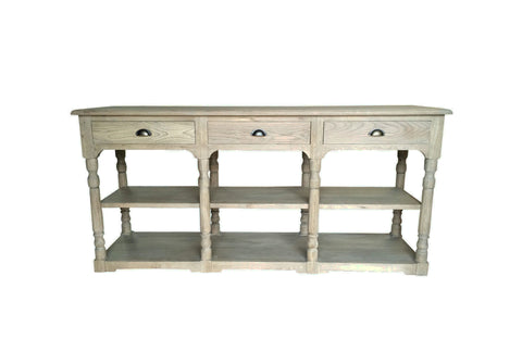ELISABETH Solid Oak Console Style My Home Sydney Australia Hamptons Country