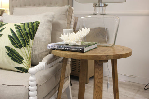 'Brittany' Round Occasional Side Table
