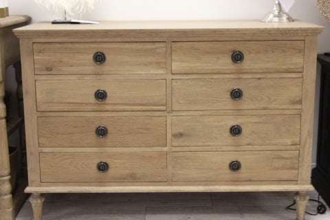 'HEIDI' 8 Drawer Chest