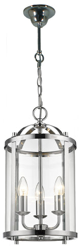 Manor Chrome Hanging Light