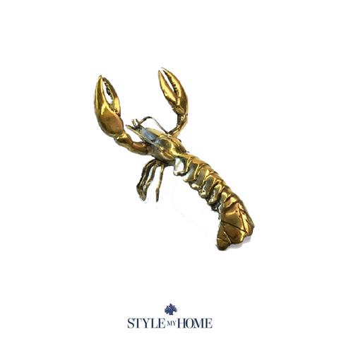 Brass Lobster Large