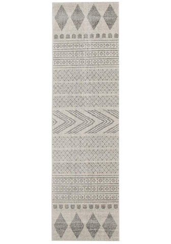 Adani  Modern Tribal Design Grey Rug