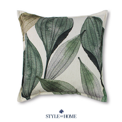 Seed Pod Green Cushion 50cm