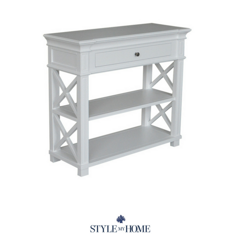 'North Harbour' Cross Leg Console - Petite