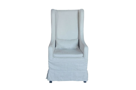 'Edward' Linen Dining Chair