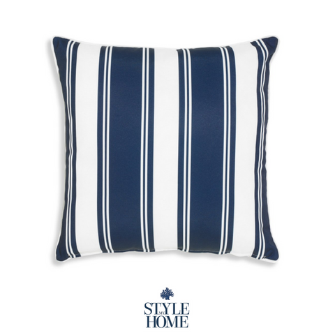 Positano Navy Cushion