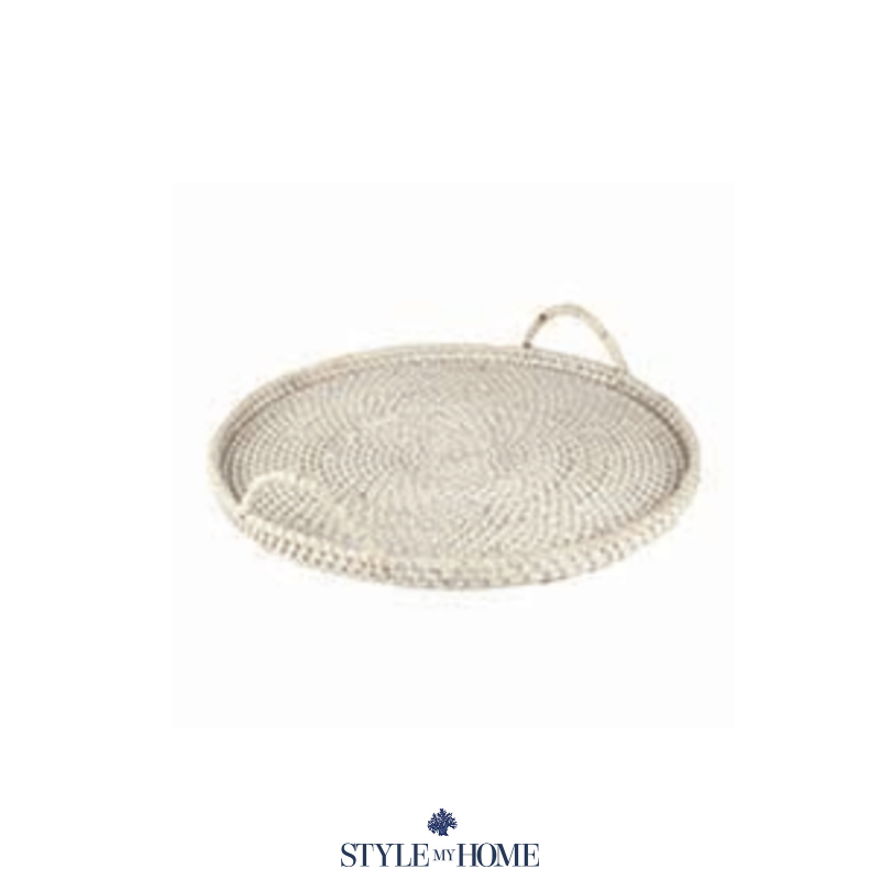 Hamptons Style Whitewash coffee table tray by Style My Home Australia