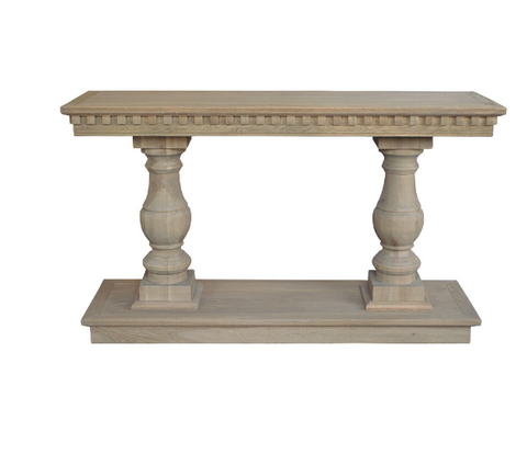 'PETRA' Luxury Oak Console