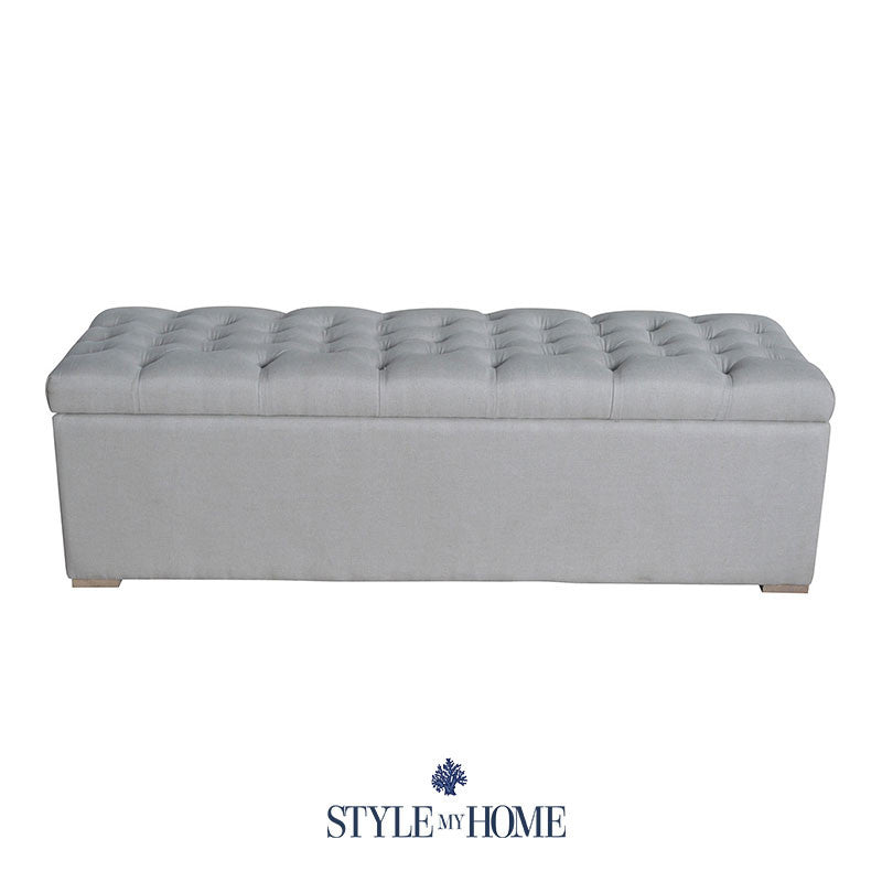 hamptons storage box blanket box bed box
