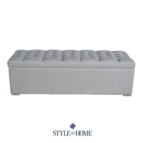 ABIGAIL Upholstered Storage Box by Style My Home Australia Sydney