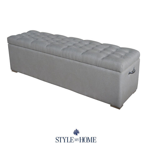 ABIGAIL Upholstered Storage Box by Style My Home Australia
