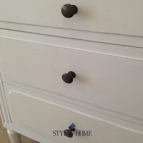 CLAIRE 3 Drawer Bedside by Style My Home Sydney Australia Hamptons Coastal