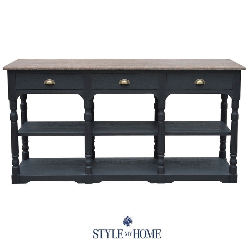 ELISABETH Solid Oak Console Style My Home Sydney Australia Country
