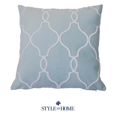 Laguna Beach Baby Blue Cushion