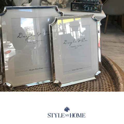 Hamptons Silver Plated Photo Frame