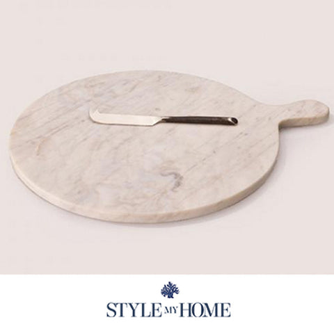 White Marble Cutting Board from Style My Home Australia Sydney