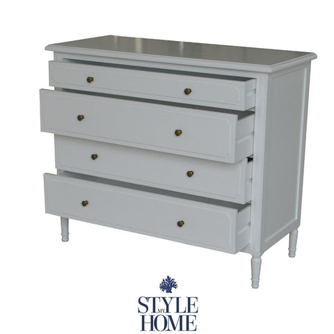 'Claire' 4 Drawer Chest