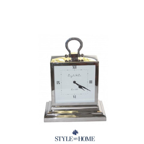 Hampshire Vertical Stepped Mantle Clock