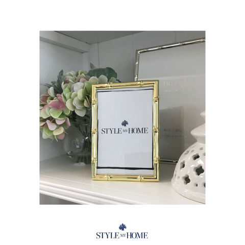 Hamptons Gold Plated Frame