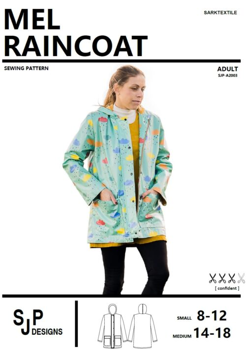 Load image into Gallery viewer, Pattern Ladies Raincoat