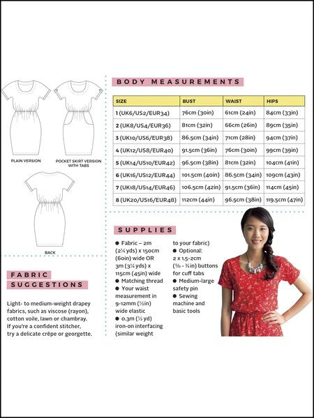 Load image into Gallery viewer, Pattern Dress BETTINE
