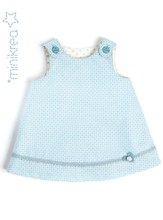 Load image into Gallery viewer, Spencer Dress Pattern Baby