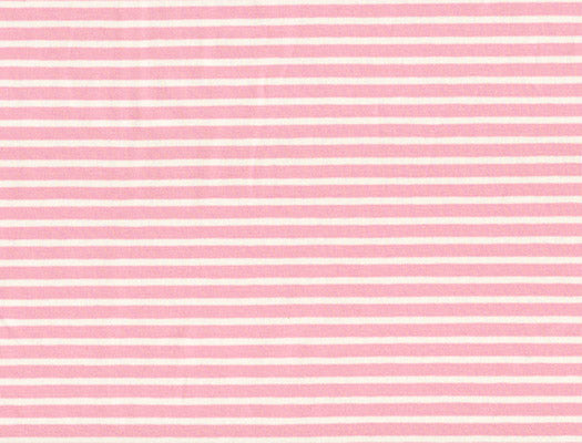 Jersey Stripes Pink/White