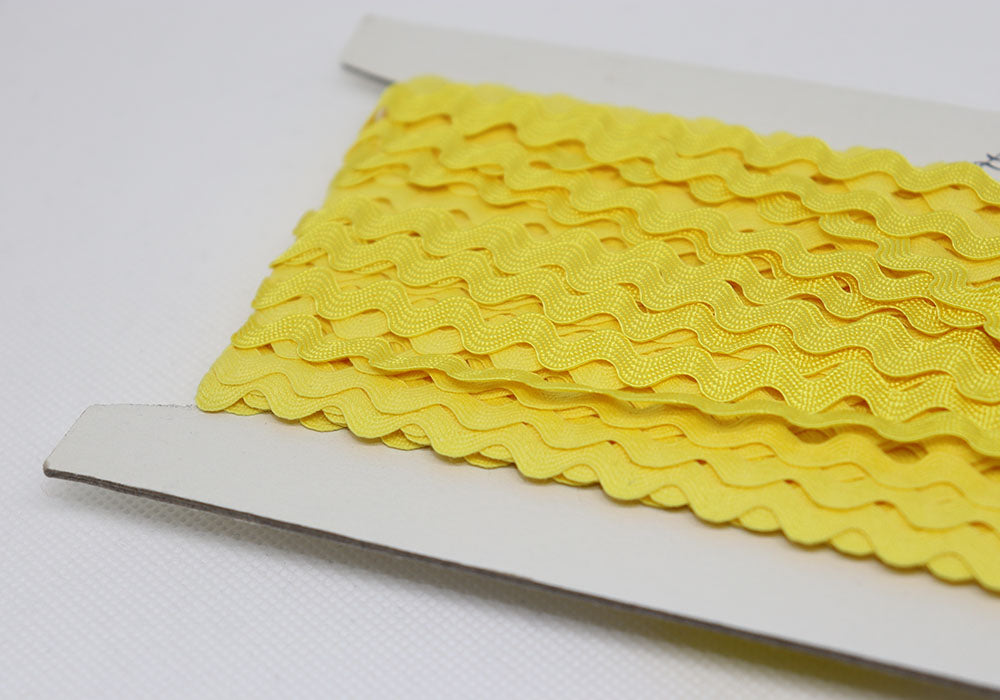 Ric Rac Ribbon Yellow