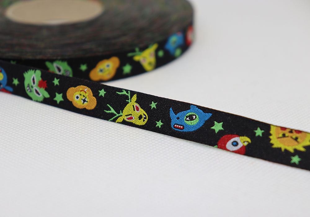 Funky Monsters Ribbon