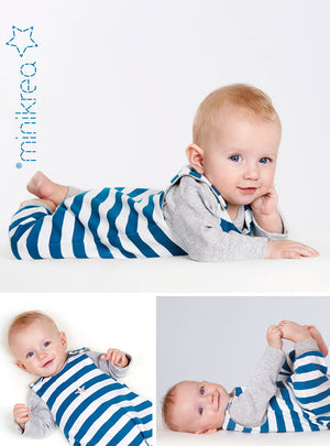 Load image into Gallery viewer, Pattern Baby Romper