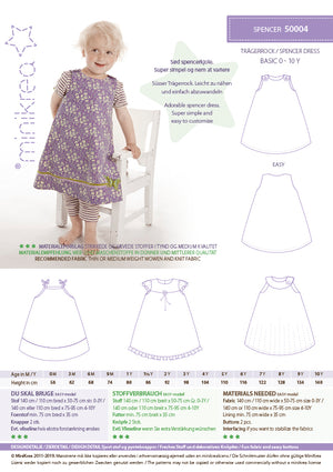 Load image into Gallery viewer, Pattern Spencer Dress