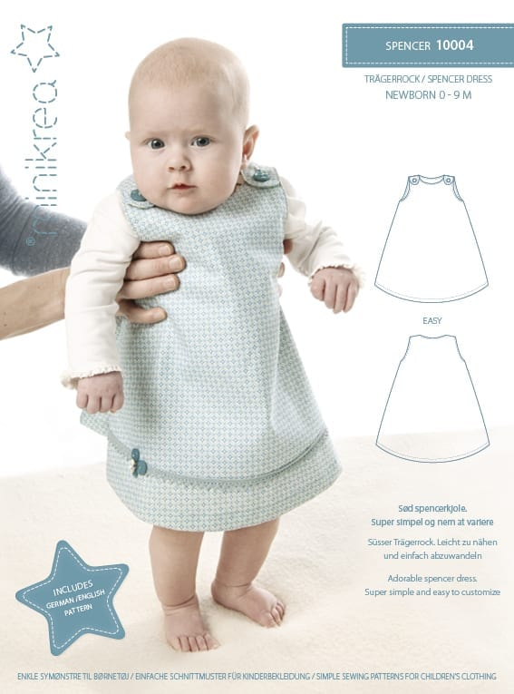 Spencer Dress Pattern Baby