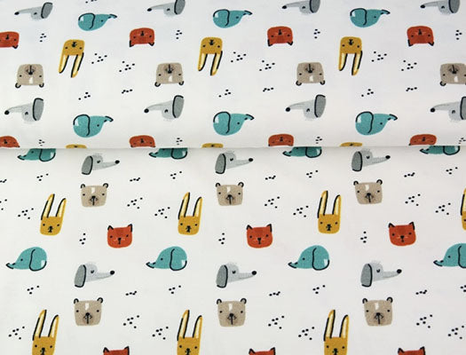 Cotton Poplin Animals