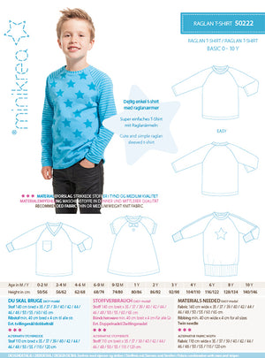 Load image into Gallery viewer, Pattern Raglan T-Shirt
