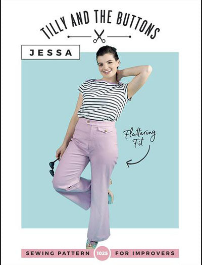 Pattern Trousers JESSA