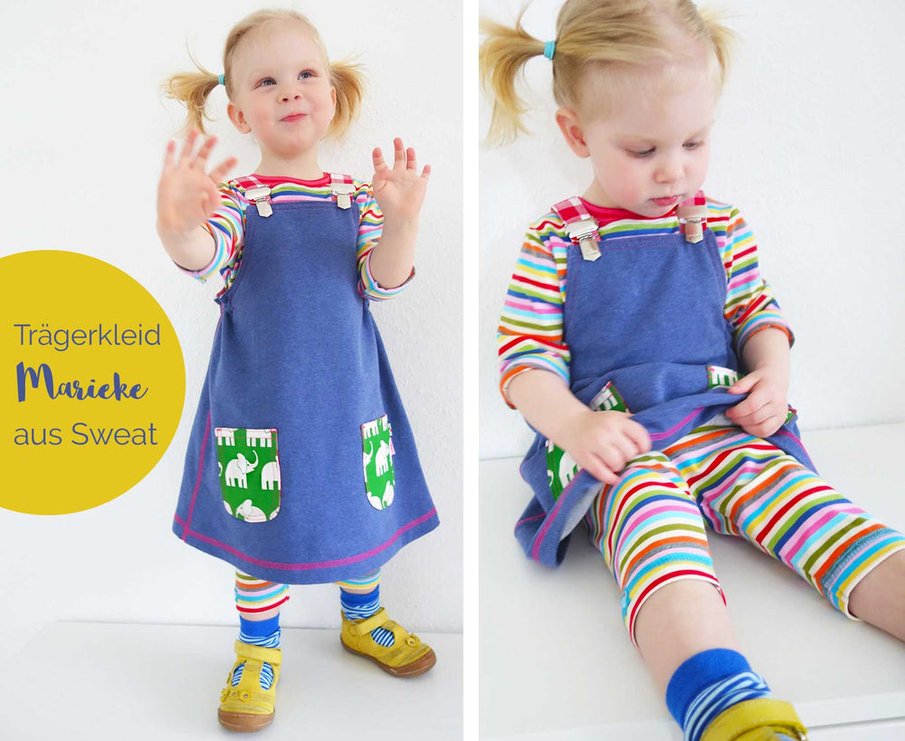 Load image into Gallery viewer, Pattern Pinafore Dress MARIEKE