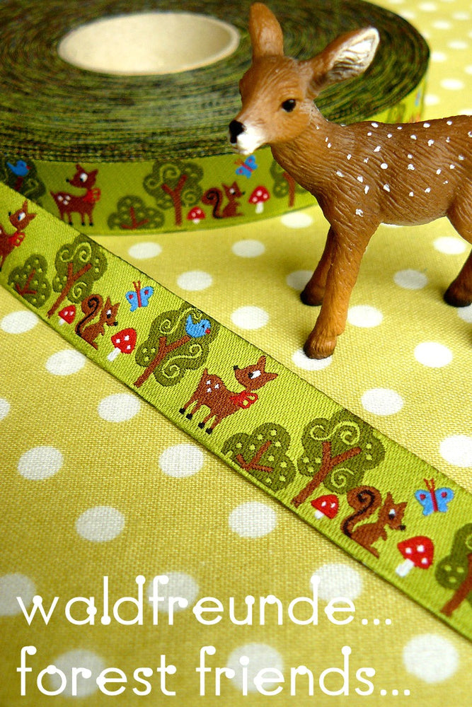 Forest Friends Ribbon