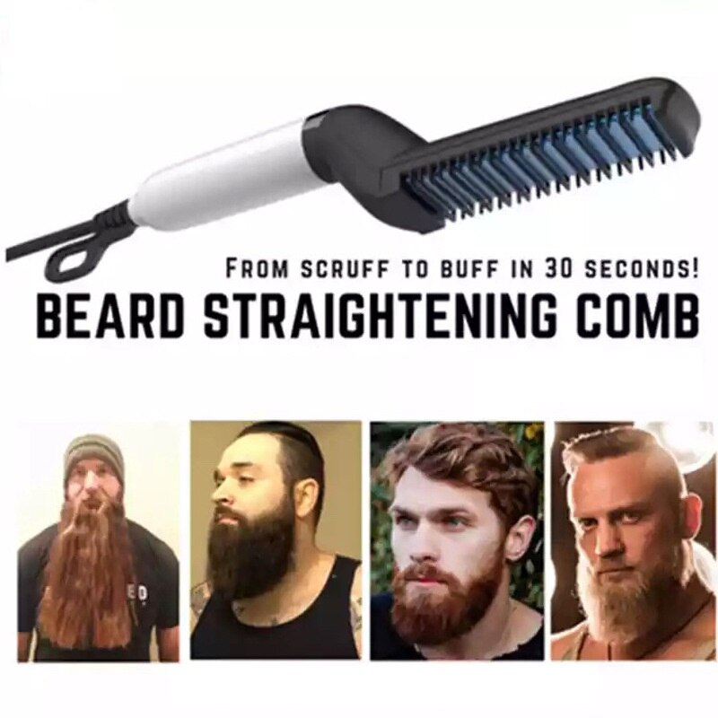 BEARD & HAIR STRAIGHTENER COMB