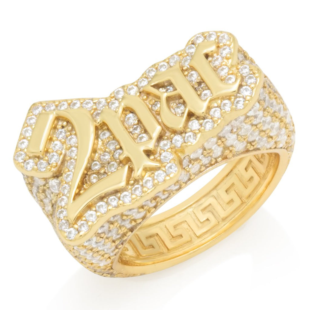 2Pac x King Ice - 2Pac Logo Ring